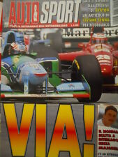 Auto & Sport ROMBO 12 1995 Un articolo di Viviane Senna per ricordarlo inizio GP