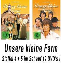 12 DVDs * UNSERE KLEINE FARM ~ SEASON / STAFFEL 4 + 5 # NEU OVP +