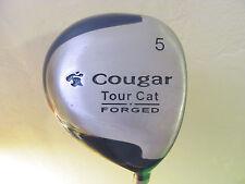 "42 1/2"" Cougar Tour Cat Forged #5 Wood. Graphite Shaft. Original Grip."