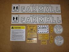 IH / FARMALL / SUPER C / NEW / DECAL SET / FOR TRACTORS / # BM17-2-14