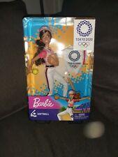 Barbie Tokyo 2020 Olympics Softball