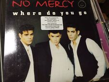 "NO MERCY WHERE DO YOU GO OOP NEW 12"" SEALED"