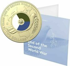 Australia 2020 $2 75th Anniversary End WWII 'C' Mintmark Coloured UNC Coin RAM
