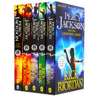 Percy Jackson: 5 Book Collection by Rick Riordan (Book Collection), Books, New
