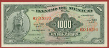 Mexico 1977 ( 1000 Pesos ) World paper money banknotes currency ( Cau )