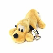 Disneyland Walt Disney World Pluto Vintage Plush Stuffed Animal 34 cm long #413