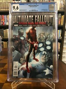 ULTIMATE FALLOUT #4 (2011) - CGC 9.6 - 1st print - 1st Miles Morales - Bagley