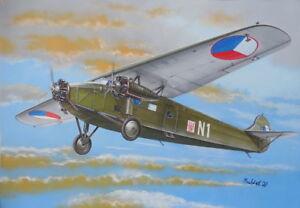 "Valom 1/72 Model Kit 72096 Avia-Fokker F.VIIb.1 ""Czechoslovak AF"""