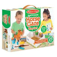 Melissa & Doug Horse Care Playset, Pretend Play, Toy, Accessories, Age 3 Years +