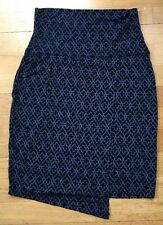 ATHLETA Navy Moroccan Seaside Skirt Soft, Stretchy Sz Small