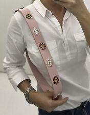 LOUIS VUITTON Epi Shoulder strap Rose Ballerine Leather