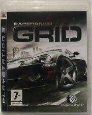 Racedriver GRID. Ps3. Fisico. UK Castellano