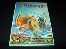Avalon Hill 1985 : RQ Earth  VIKINGS - Nordic Roleplaying for RuneQuest Chaosium