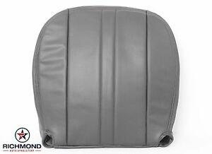 2003-2016 GMC Savana Cargo Van Diesel -Driver Side Bottom Vinyl Seat Cover Gray