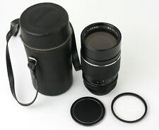 Asanuma 200mm f/3.5 Auto-Tele Lens for Canon FD Mount