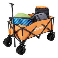 100kg Heavy Duty Foldable Garden Trolley Cart Utility Wagon Grocery Shopping Aus