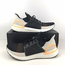 Adidas UltraBoost 19 G27514 Men's Size 10.5 Black Orange White Khaki Trace Cargo