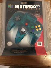 ICE BLUE N64 Controller Brand New Rare Aussie Seller ( BLISTER PACK )