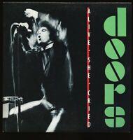 VINYL LP Doors - Alive She Cried Elektra 9 60269 1 1st PRESSING NM-
