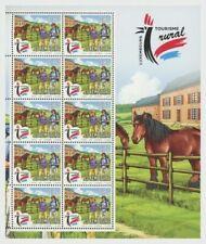 Luxemburg 2019  Toerisme schapen paarden   2 velletjes    postfris/mnh