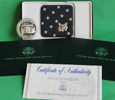 1991 S Proof Uso Silver Dollar Us Mint Commemorative Coin with Box and Coa