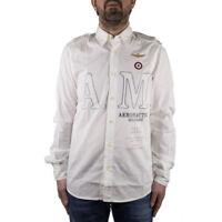 Aeronautica Militare Camicia Uomo Col Bianco tg varie | -42 % OCCASIONE |