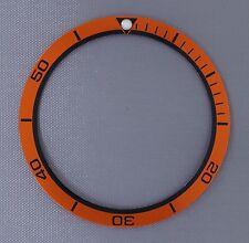 Orange Planet Ocean Style Bezel Insert to fit Seiko 6105, 6309, 7002 & SKX007 ..
