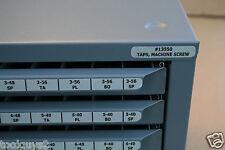 """HUOT TAP (SIZES 2-56 thru 12-28)  DISPENSER STORAGE ORGANIZER CABINET-13550 """"NEW"""