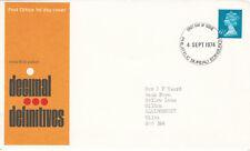 (14239) CLEARANCE GB 6.5p Definitive Bureau 1974