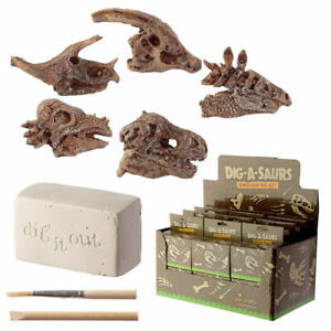 Educational Toy Dinosaur Fossil Excavation Dig It Out Kit - Indoor Activity