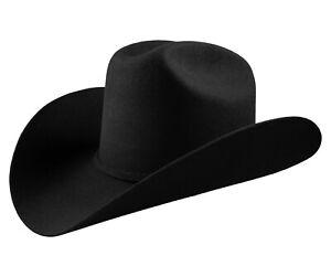 Men's Cowboy Hat El General Texana 10X Horma Durangense Color Black Wool