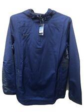 NIKE Men's Stock Woven 1/4 (Quarter) Zip Jacket - Navy/Anthracite, Medium NWT