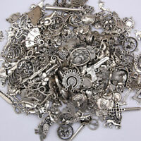 100g Lot Tibetan Wholesale Vintage Steampunk Mixed Keys Pendants DIY Craft