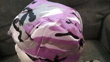Purple Camo  Doo Rag / Skull cap