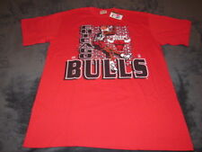 NWT VINTAGE TEAM RATED CHICAGO BULLS 1993 T-SHIRT SIZE LARGE MADE IN USA RARE