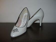 Jean Clarke Femmes Cour Chaussures talons beige en cuir Marron Eu 37/UK 4 Coupe Slim