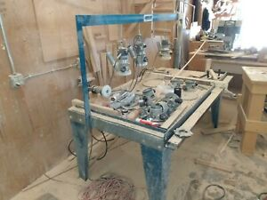 Router Raised MDF Cabinet Door Setup Clamp Table & Routers