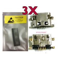 3 X New Micro USB Charging Sync Port Alcatel One Touch POP MEGA A995 A995L USA