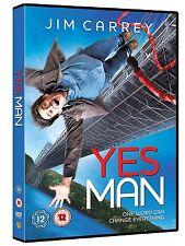 Yes Man (2009) Jim Carrey, Sasha Alexander, Rocky Carroll NEW UK REGION 2 DVD