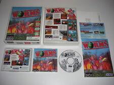 WORMS 1 Pc Cd Rom Original BIG BOX - FAST DISPATCH