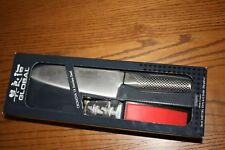 Global G-46 Santoku Knife and Water Sharpener Yoshikin Made in Japan NEW