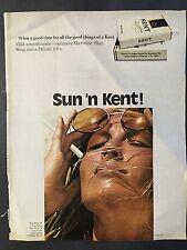 1971 Vintage Ad for Kent Cigarettes