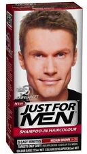 Just for Men Shampoo-in Haircolour Grey Target Medium Brown 5 Minute Application