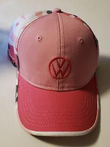 Volkswagen VW VR6 STi Drivergear VW Trucker Hat Cap Pink Camo Brand New