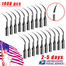 1000 Dental Ultrasonic Perio Scaler Insert Perio Tips P1 fit EMS Handpiece UO-F