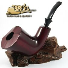 """ECCEZIONALE Mr.Brog originale GRANDE fumando la pipa """" GIANT XL """" Rubin classico"""