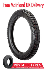 Ensign 350-19 Trials Tyre 3.50-19 AJS Matchless