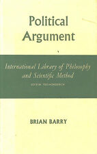 Political Argument by Barry, Brian