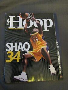 2001-02 Denver Nuggets vs. Los Angeles Lakers Program Shaq O'Neal Kobe Bryant