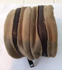 Sheep Skin Double Fly-Reel-case-with-Heavy-Duty Zipper